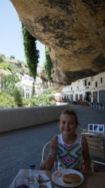 Cafe along the road- Setenil de las Bodegas