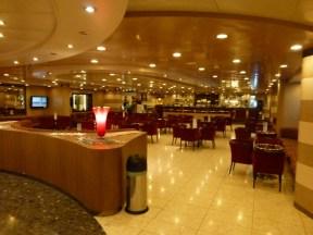 The cafe/bar area
