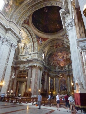 To Do in Rome with kids - Saint Ignatius' Church