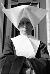Nun in uniform