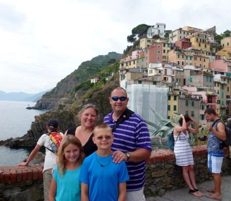 Cinque Terre - Riomaggiore Italy WagonersAbroad