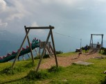 There was always a playground around, even at the top of the mountains.