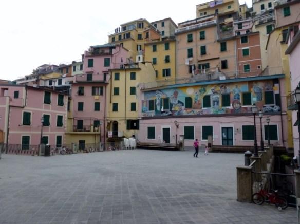 Riomaggiore Main Plaza