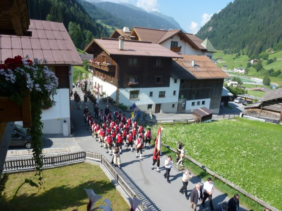 Procession in See Tyrol Austria