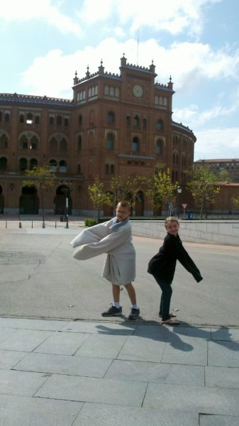 Madrid Spain - Plaza de Toros Wagoners Abroad