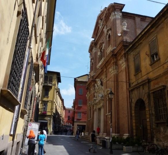 Reggio Emilia Italy side street