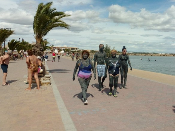 Wagoners Abroad at Mar Menor - Lo Pagan Mud Bath (11)