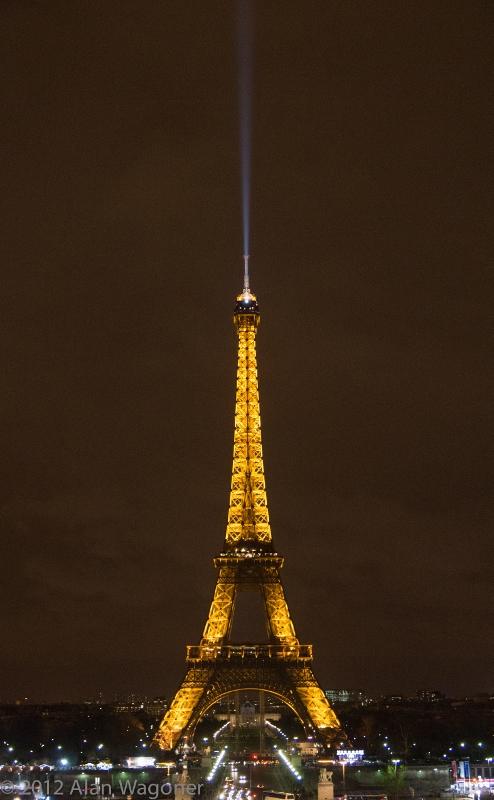 Yellow - Eiffel Tower Paris France - capture the colour