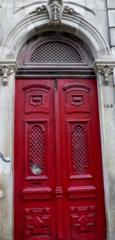 Porto, Portugal Red Door