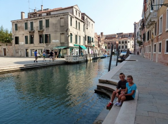 Canals Venice Italy Summer