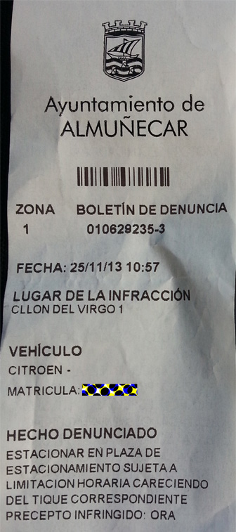 It is easier than you thing to get a parking fine, so we share with you how to pay a parking ticket in Spain.  You can save money if you pay right away!