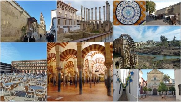 Córdoba Spain Collage