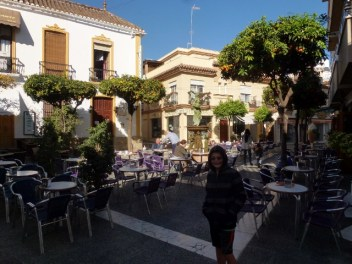 Estepona Spain plaza