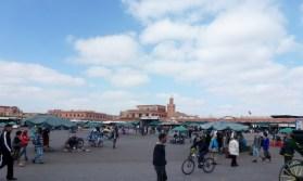 Jamaa el Fna square Marrakech Medina