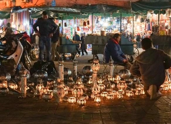 Night Market Marrakech Morocco