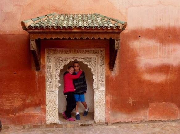 Royal Tombs Saadian tombs in Marrakech