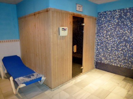 Sauna (with bathing suit) Playa Senator AquaPlaya Spa in Almuñécar Spain