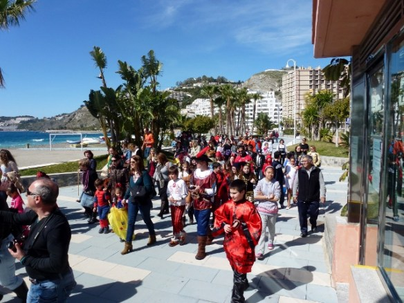 Carnaval at school Almunecar Spain 2014 (2)