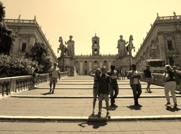Get Married in Rome - Cordonata Steps
