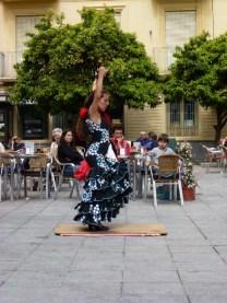 Almuñécar Flamenco in Central Plaza Old Town