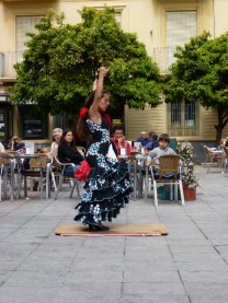 Almuñécar Flamenco in Central Plaza Old Town