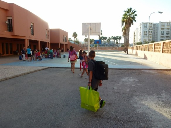 Almuñécar - Schools in Spain and a basic playground