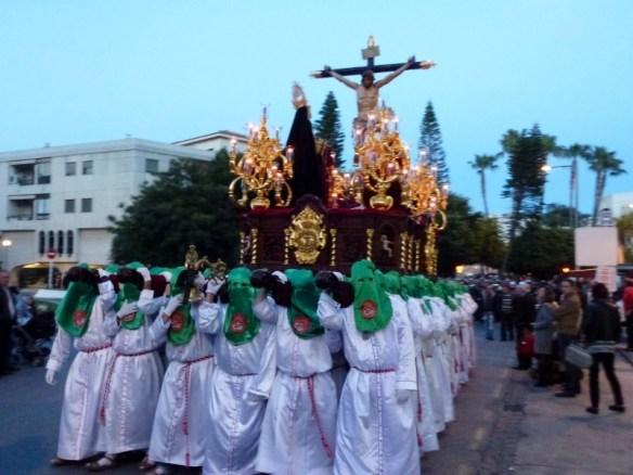 Almuñécar Spain - Semana Santa Jueves Santo