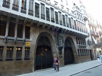 Barcelona Spain - Love the buildings