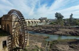 Cordoba Spain - Roman Bridge and water wheel