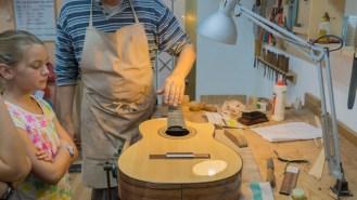 Crafts in La Herradura Spain - Master Guitar Maker Stephen Hill