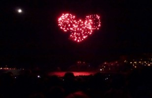 Festival in Almuñécar - Fireworks Festival on the beach August - 1 year living in Spain