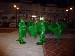 Festival in La Herradura Spain Carnaval Costumes- Toy Soldiers