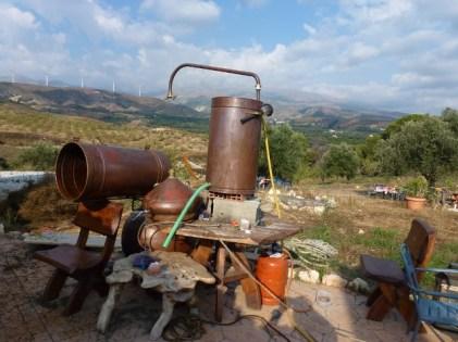 Granada Spain - Lavendar Distillery