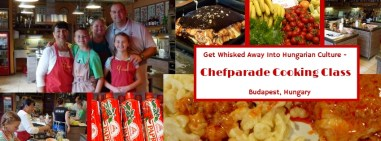Hungarian Cooking Class - Budapest (Chefparade Cooking School)
