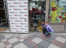 Madrid Spain - I love Madrid