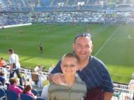 Malaga Spain Futbol Game