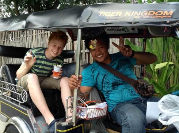 Matt in Thailand - Taylor Family