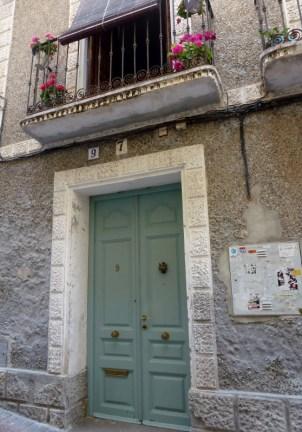 B&B Casa 9 Almunecar Front Door