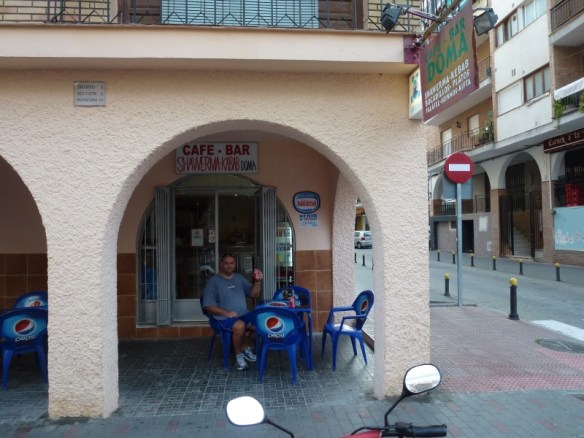 Cafe Bar Doma Shawarma Kebab Almunecar Spain