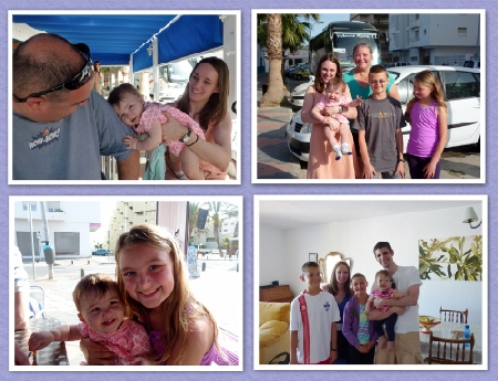 Erica, Matt and Lola meet Wagoners Abroad Spring 2014 Travel Blog Fans