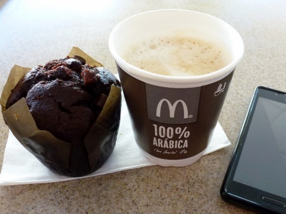 McDonald's Coffee and Muffin