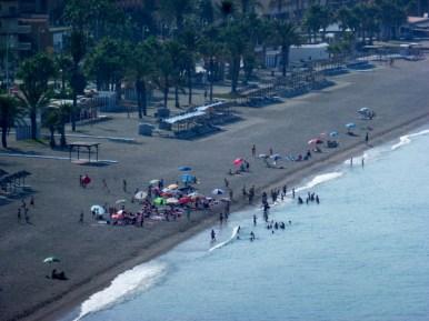 San Cristobal Beach Almunecar - Last Day of School