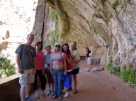 Weeping Rock Zion National Park Family - Utah June 2014