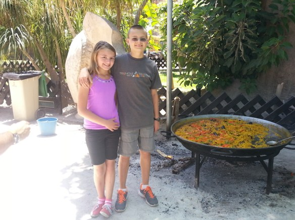 Anya & Lars and a lot of Paella Nearly two years living in Spain, hear what Lars and Anya think about our adventures. What was public Spanish school like for them? Do they fit in? Read more on WagonersAbroad.com