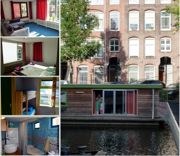 Amsterdam_Houseboat_Collage