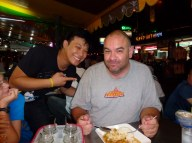 Bangkok Thailand first meal out Max's Magic Thai Food