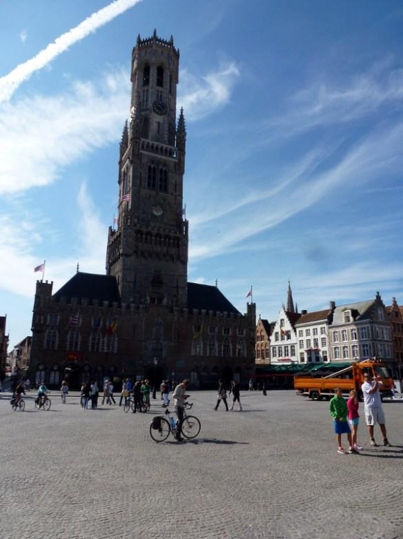 Bruges Belgium Market Square