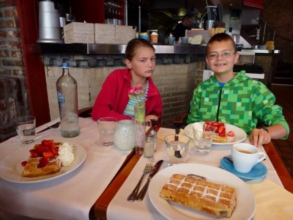 Bruges Belgium - Gotta have Belgian Waffles in Belgium