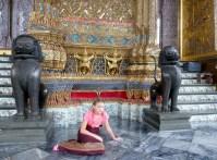 Grand Palace Bangkok Thailand our little princess