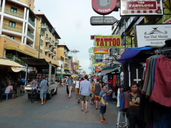 Rambuttri Rd Bangkok